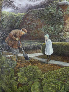 Inga Moore: The secret garden