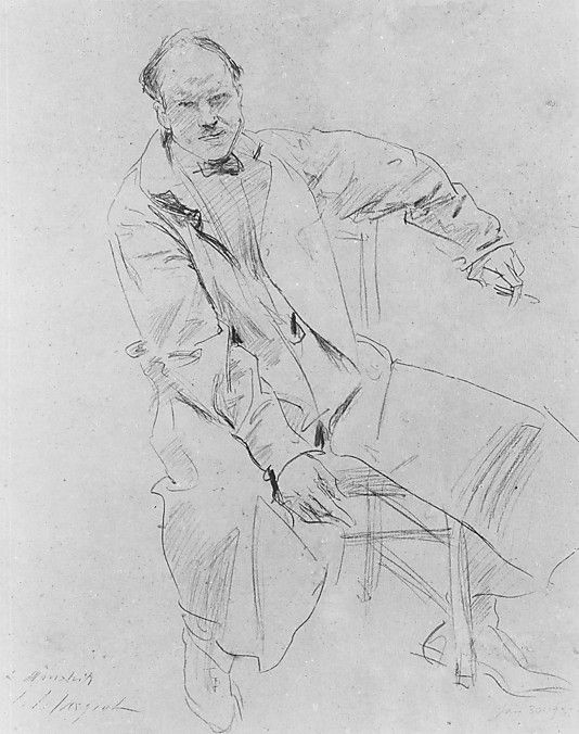 John Singer Sargent: Paul Manship
