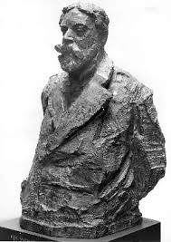 Rik Wouters: James Ensor, bronze