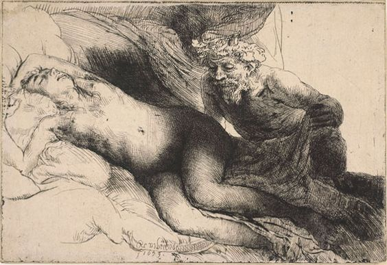 Rembrandt van Rijn: Jupiter en Antiope