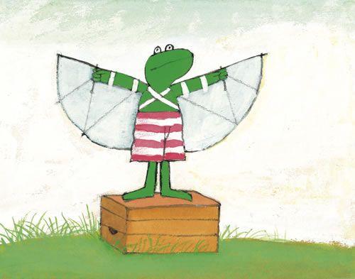 Max Velthuijs: Kikker wil vliegen