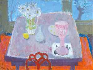 Anne Redpath: Pink vase