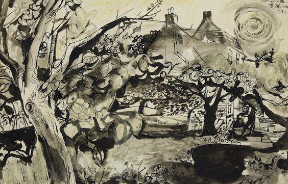 John Minton: Kent gardens