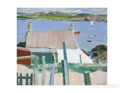 Francis Cadell: Mull vanaf Iona