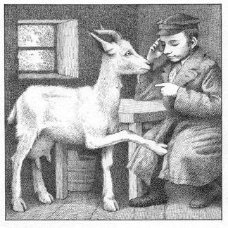 Maurice Sendak: illustratie bij I.B. Singer