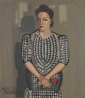 Jean Brusselmans: De dame met de roos
