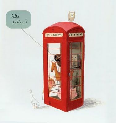 Oliver Jeffers: Hello, police?