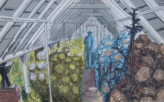 Edward Bawden: The greenhouse