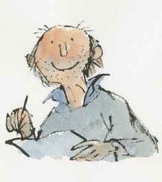 Quentin Blake: zelfportret