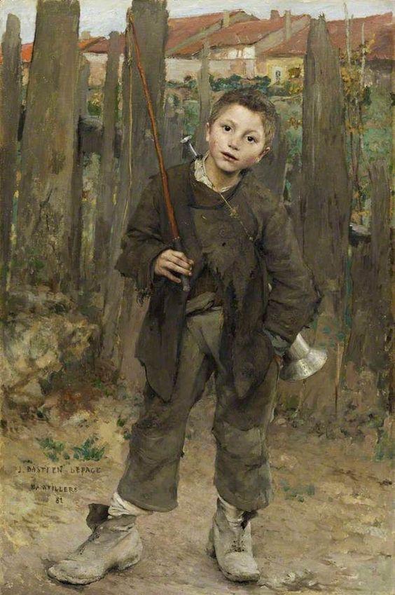 Jules Bastien-Lepage: Peasant boy