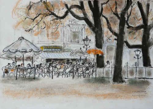 Jenny Dalenoord: Bodega de Posthoorn