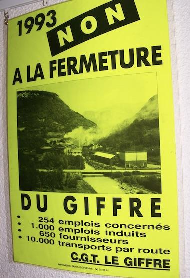 l'usine du Giffre