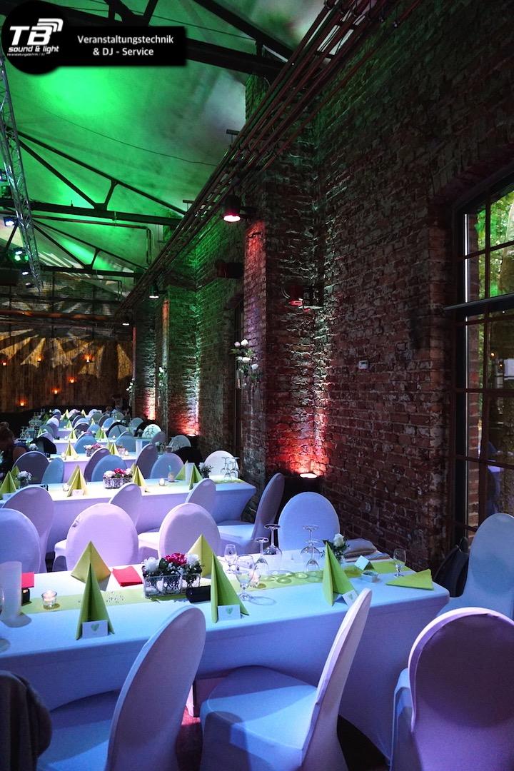 LED Spots mieten für indirekte Beleuchtung