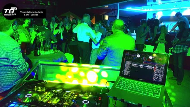 DJ für eine Silberhochzeit in Wormersdorf (Ton, Licht, DJ)