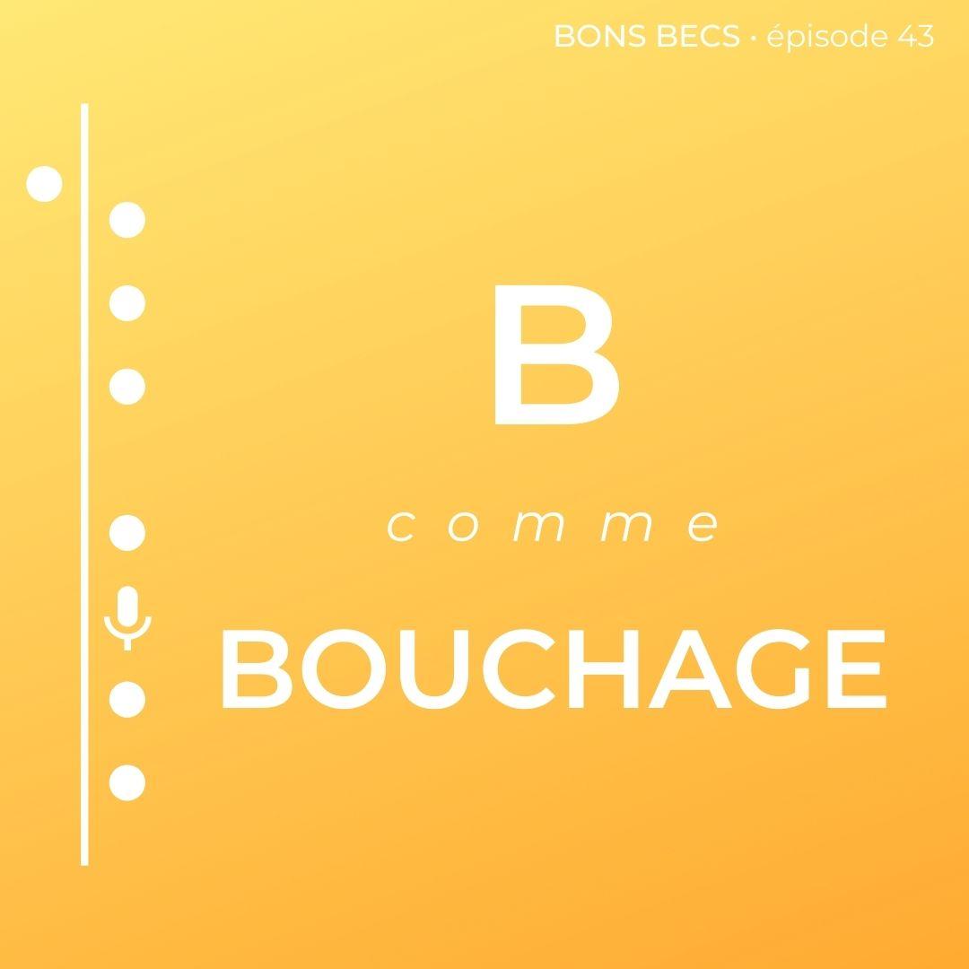 Épisode 43 : B comme BOUCHAGE