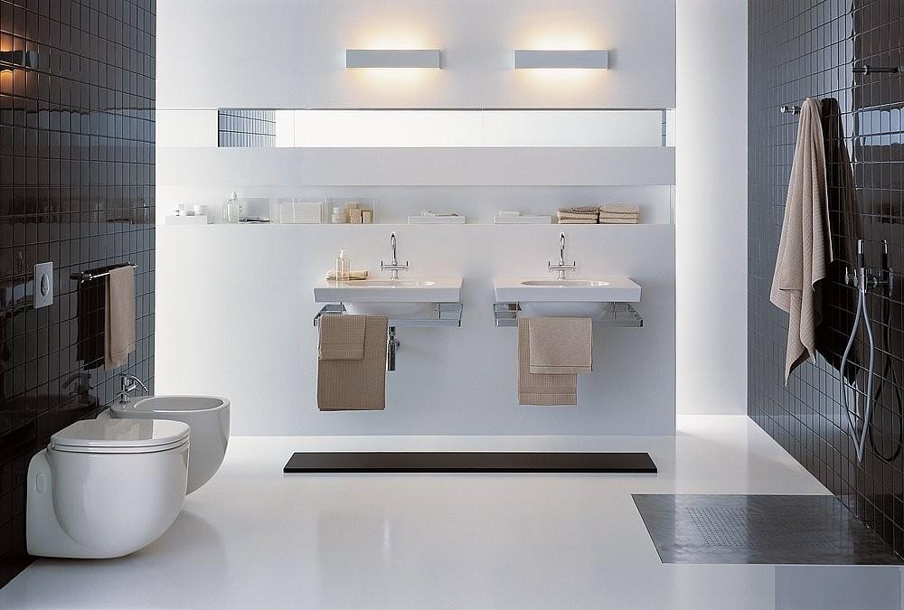 Badezimmer Installation, das bad mit viel platz - m-schulze-sanitaer gas-wasser-installation, Design ideen