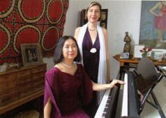 Andresa Schwab und Asako Hosoki
