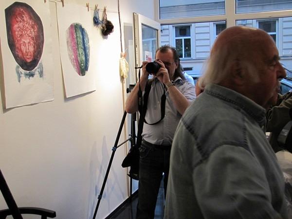 Fotograf, Robert, wird fotografiert Foto: Mag. (FH) Beate Mitterhuber