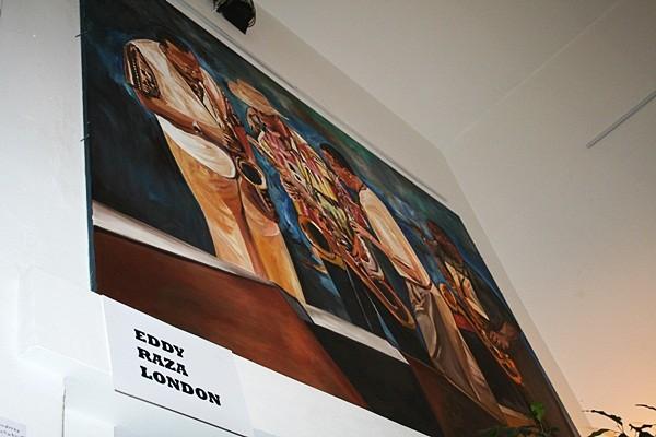 Jazzszene von Eddy Raza, London
