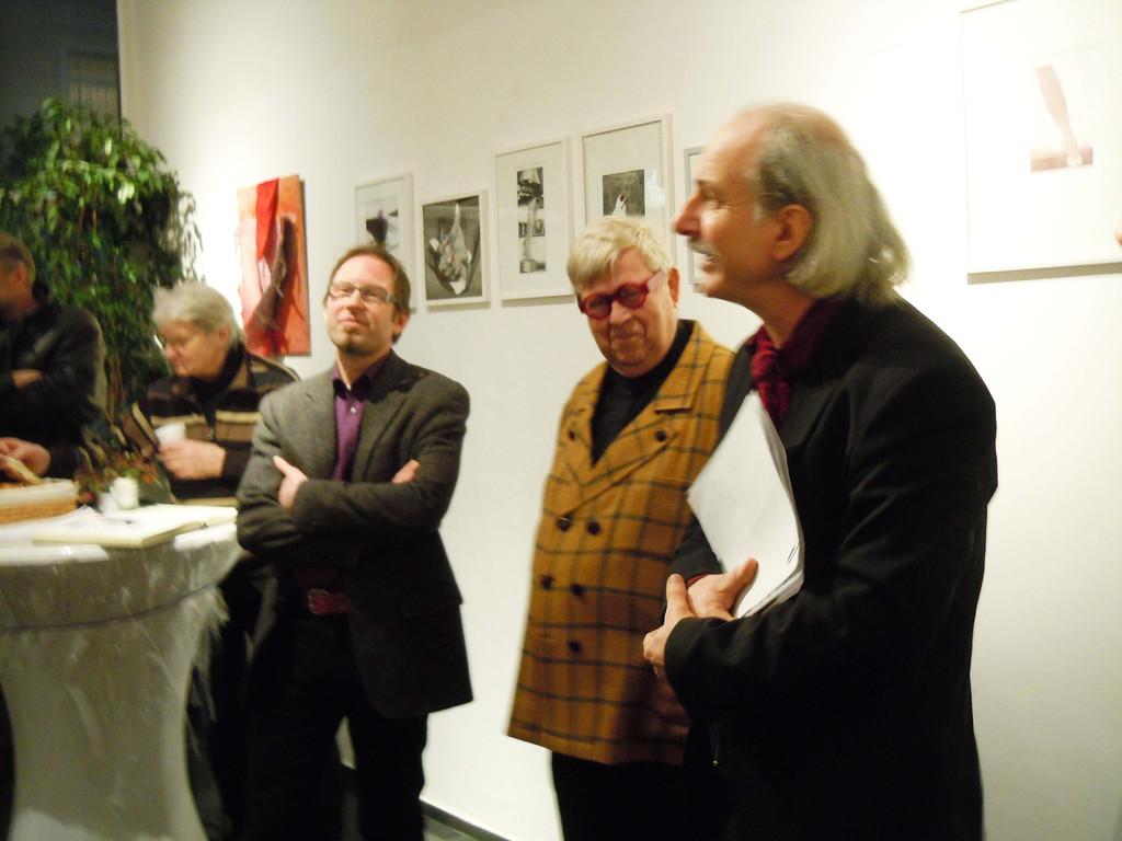 vlnr: Andreas Heckmann, Günther W. Wachtl, Mag. Dr. Rainer König-Hollerwöger
