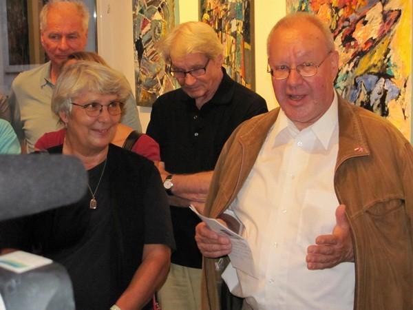 vlnr: Marina Jahn, Friedl Fallmann, Dr. Franz Greif -  Foto: Mag. (FH) Beate Mitterhuber