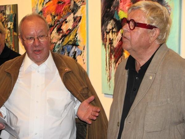Dr. Franz Greif und Günther W. Wachtl -  Foto: Mag. (FH) Beate Mitterhuber