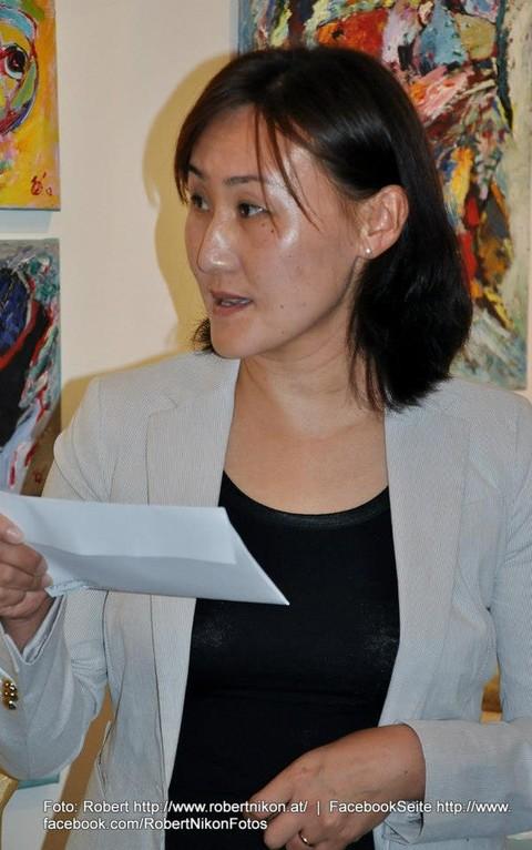 Frau Kulturattaché der Botschaft der Mongolei - Foto: Robert