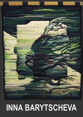 galerie time Ausstellung Inna Bartyscheva Ukrainische Goblinkunst auf höchstem Niveau.
