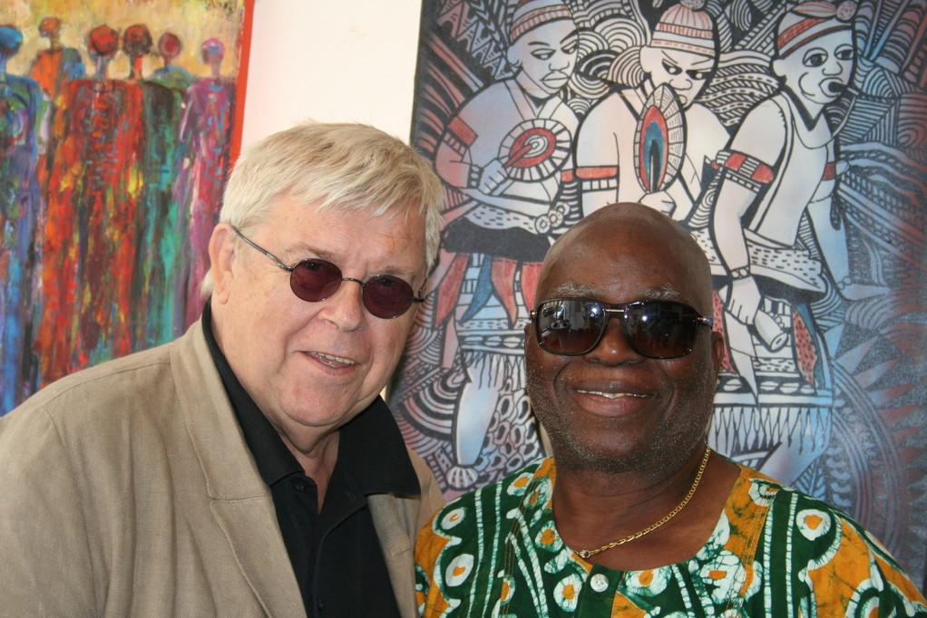 Günther W. Wachtl und Ambali Bambola