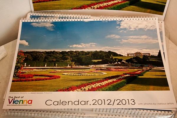 """Kalender """"Best of Vienna 2012/13"""" u.a. mit Andrea Bischinger"""