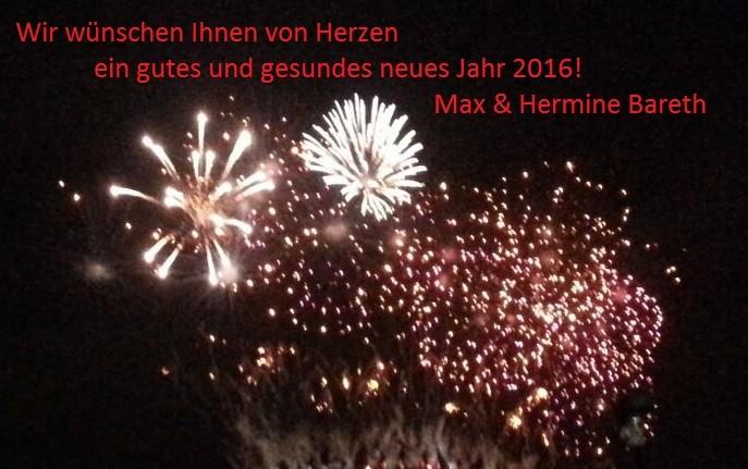Frohes neues Jahr - Ferienhof Bareth