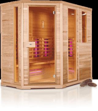 infrarotkabine monaco 210l oder monaco 210r sauna spa profi. Black Bedroom Furniture Sets. Home Design Ideas