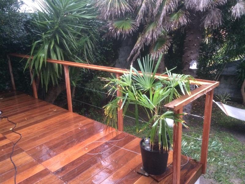 Les Green - Terrasse bois