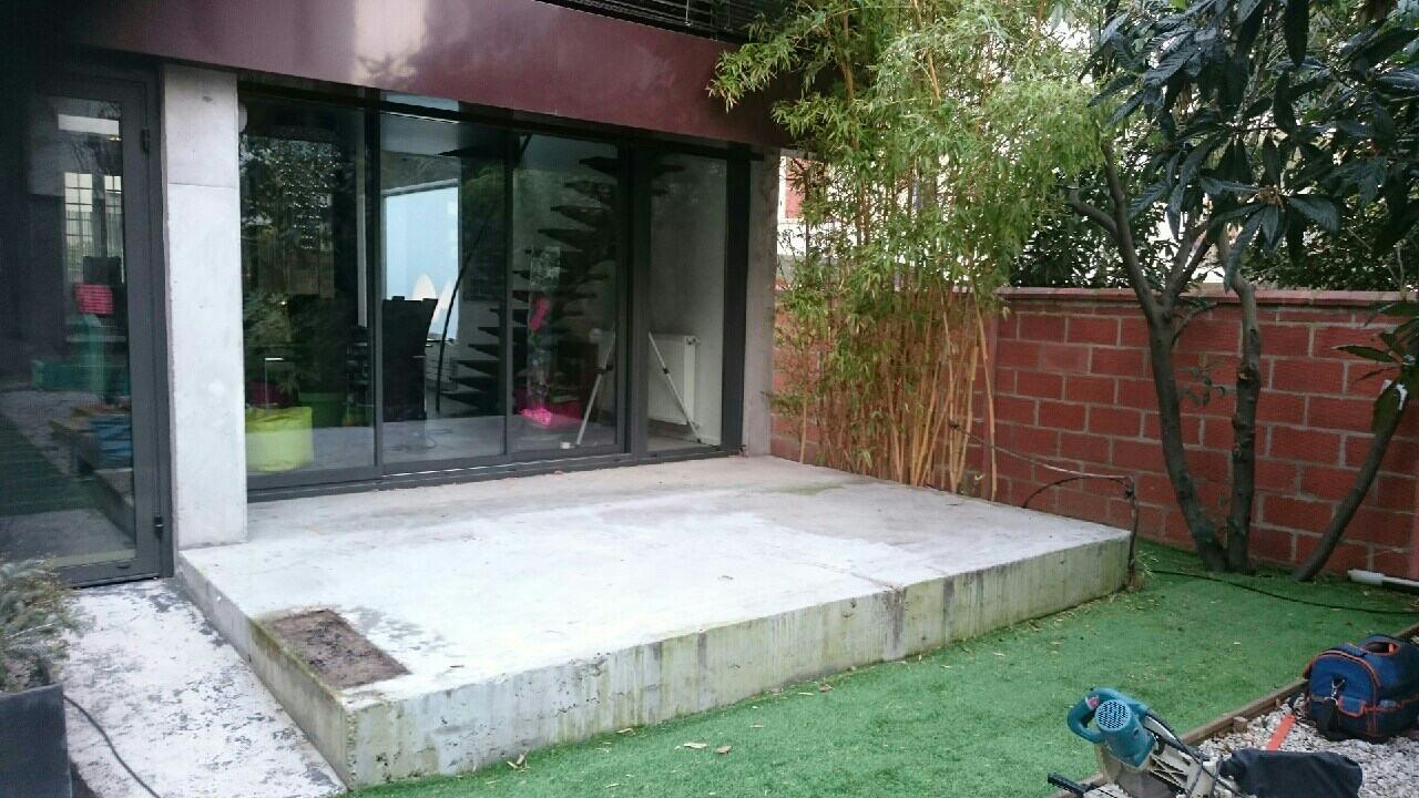 Les Green - avant terrasse
