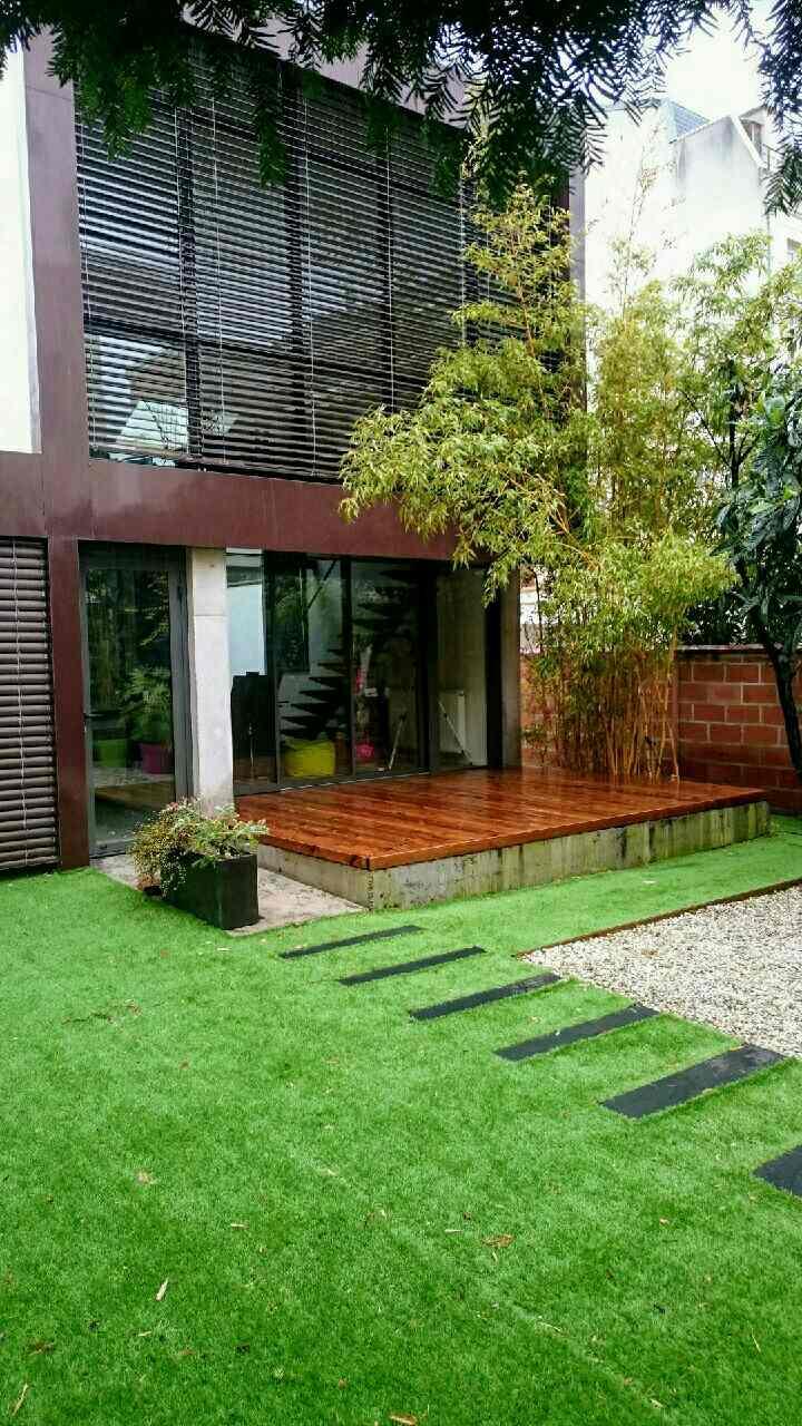 Les Green - après terrasse