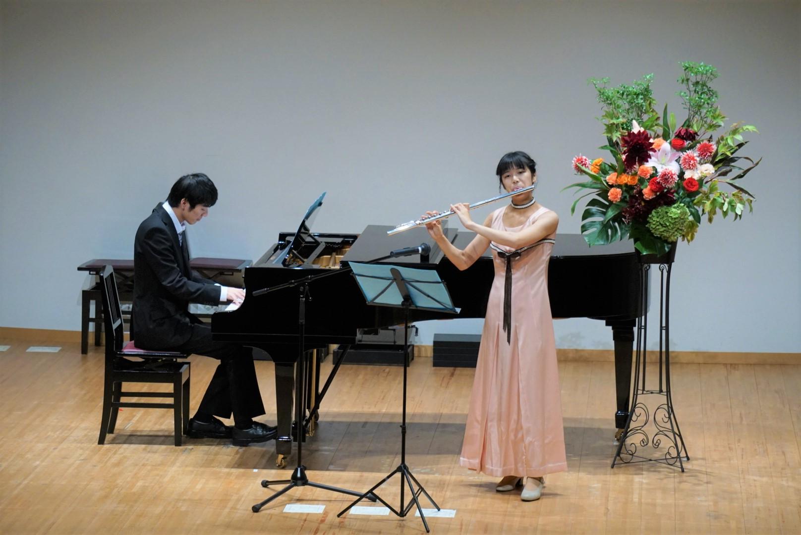 2018年10月27日 奏の会ピアノ発表会 フルートとピアノのアンサンブル