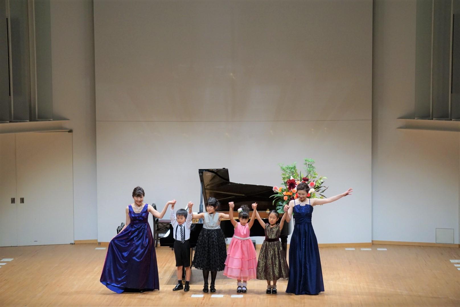 2018年10月27日 奏の会ピアノ発表会 ゆりか先生と5人の生徒による「ドリー組曲」