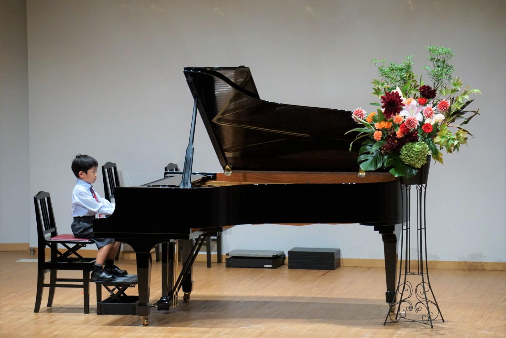 2018年10月27日 奏の会ピアノ発表会 子どものソロ演奏