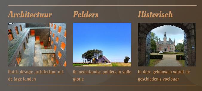 fotowebsite structuur