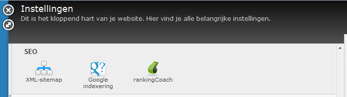 rankingCoach in Jimdo