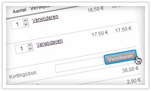 korting webwinkel