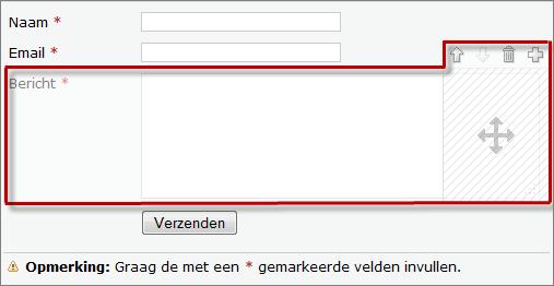 contactformulier website