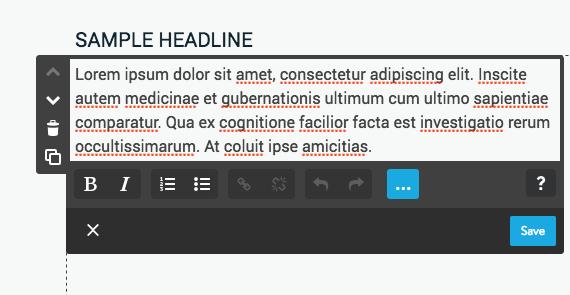Jimdo Headline