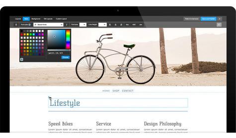 Jimdo website vormgeven