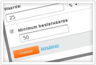 kortingscode webwinkel