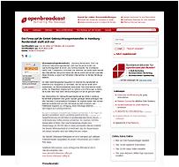 Preview-Grafik: Pressemitteilung OPENBROADCAST / Gebrauchtwagenhändler aaf.de in Hamburg - Norderstedt