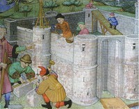 Gilles de Rome, Le livre du gouvernement des princes, France , 2ème quart du 15ème siècle. Paris, Bibliothèque Ste Geneviève