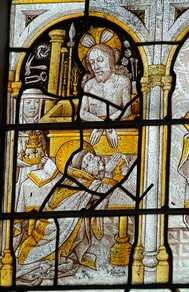 Verrière Chapelle de St Gouvry 16ème siècle