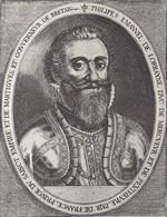 Philippe de Lorraine, duc de Mercoeur, gouverneur de Bretagne depuis 1582