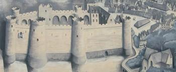 Fresque visible rue Notre Dame Jacques Renaudin, Jan Michel Daniel - Rohan 2000